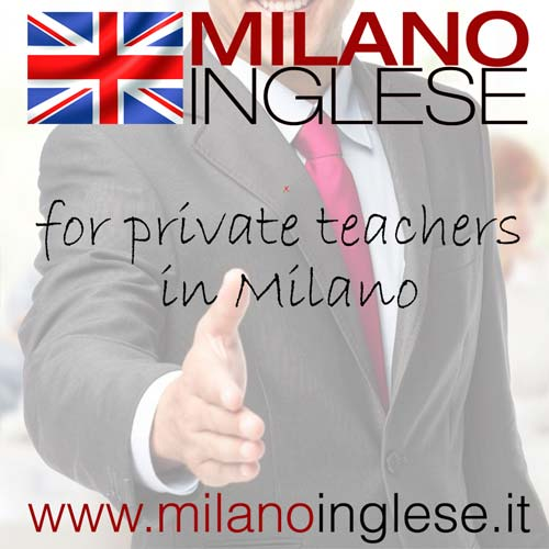 Private English teachers in Milan